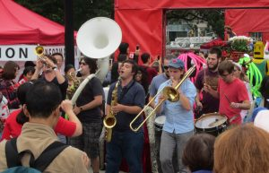Hogtown-Sound-Jamming-at-Queens-Park-on-Canada-Day